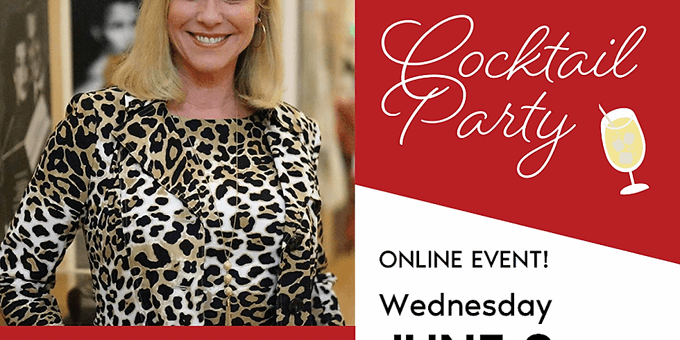 Global Fashion Business Alliance Live Zoom Party with Beth Sobol and Ron Thurston