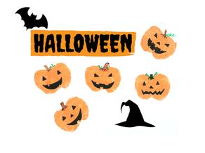 Halloween Apple Stamping