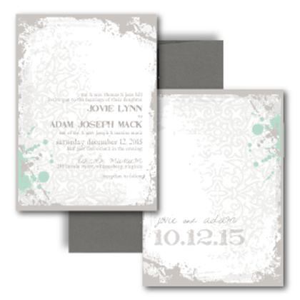 Splash of Awesome Standard Invitation + Envelope