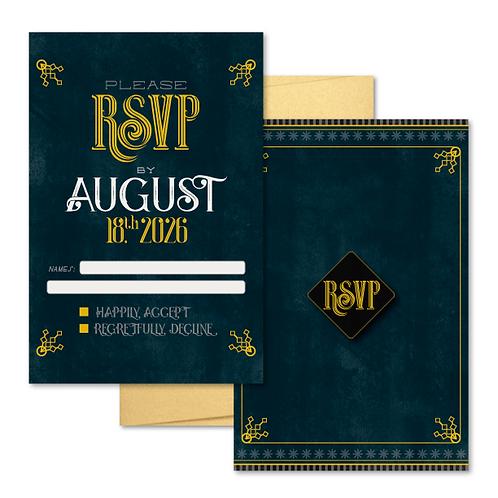 Avalon RSVP + Envelope