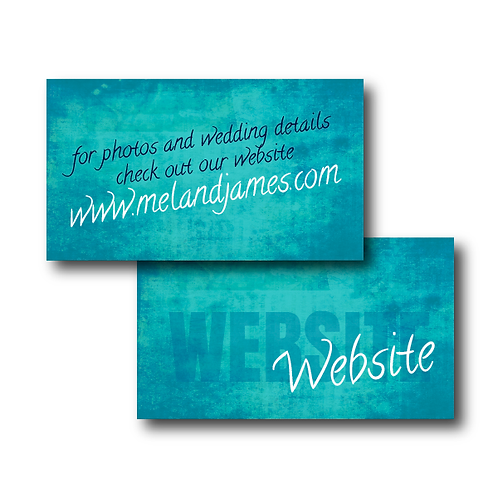 Colorful Canvas Website Card