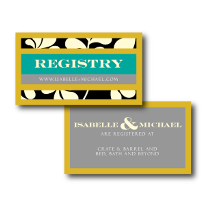 The Darcy Registry Card