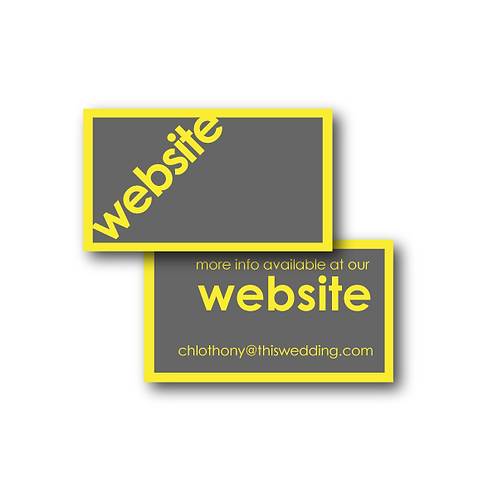 So Fresh and So Clean Website Card