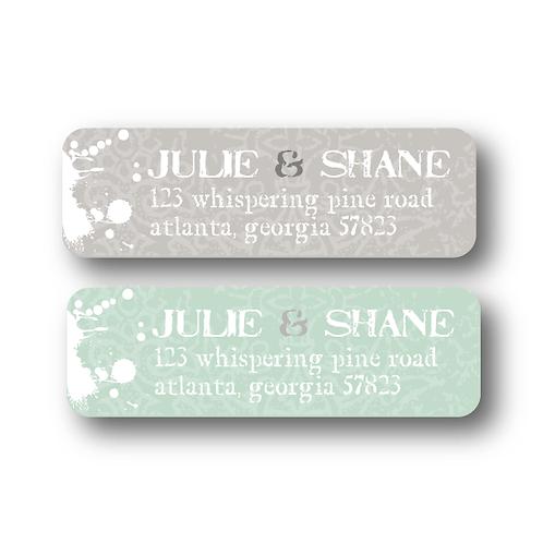 Splash of Awesome Return Address Labels