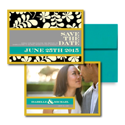 The Darcy Save the Date + Envelope