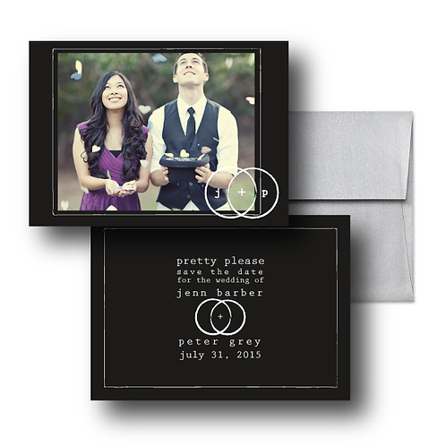 Eternity Stamp Save the Date + Envelope