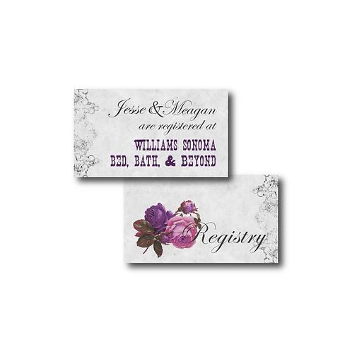 Spanish Rose Registry Card