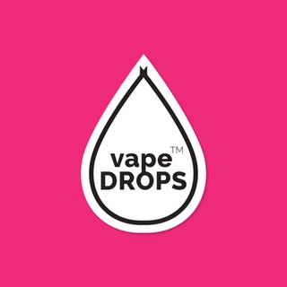 Vape Drops Logo Design