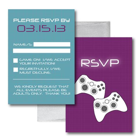 Gamer Wedding RSVP