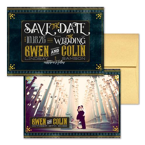 Avalon Save the Date + Envelope