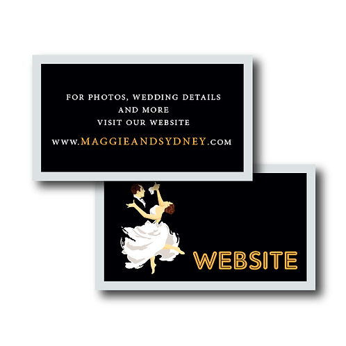 The Gatsby Website Card