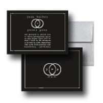Eternity Stamp Standard Invitation + Envelope