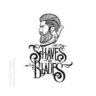 Shaves and Blades Logo Design