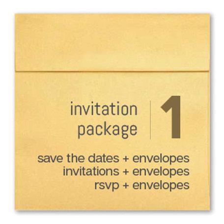 Invitation Package 1 - Clean Getaway