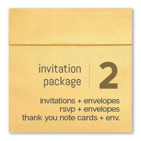 Invitation Package 2 - Clean Getaway