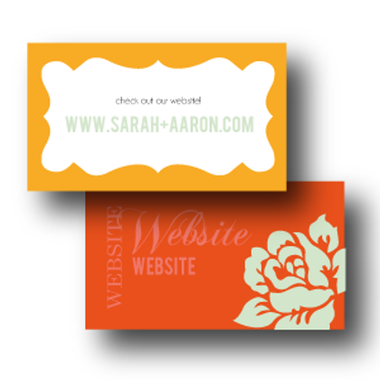 Paint the Roses Website Card