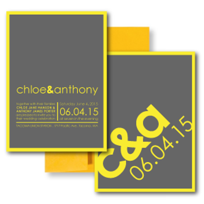 So Fresh and So Clean Standard Invitation + Envelope