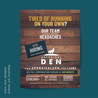 Appraisal Den Ad Campaign