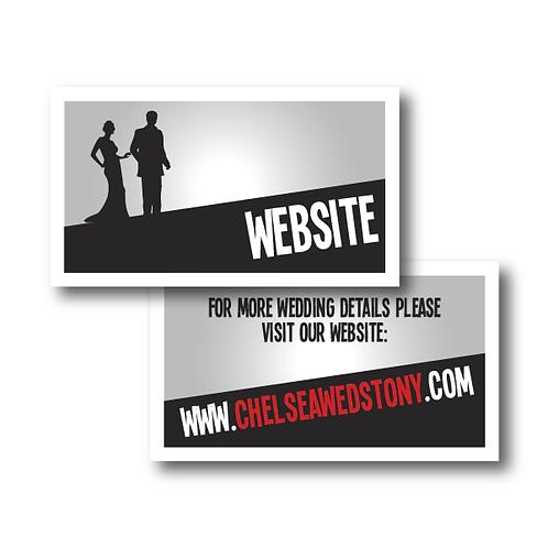 Mad Men Website Card