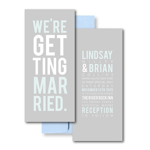 Poster Perfect Standard Invitation + Envelope