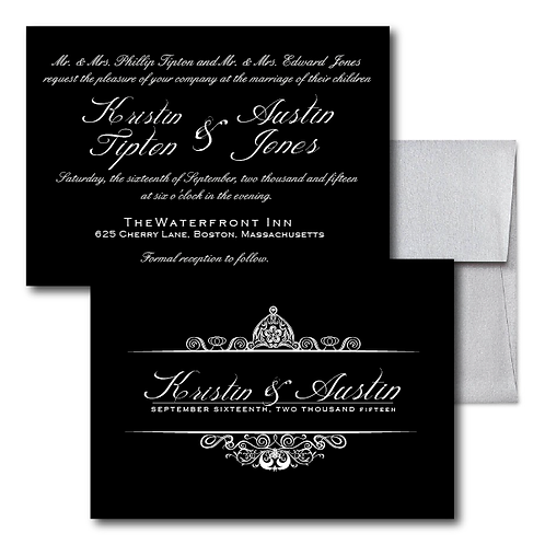 Drinkin' Champagne Standard Invitation + Envelope