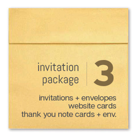 Invitation Package 3 - Clean Getaway