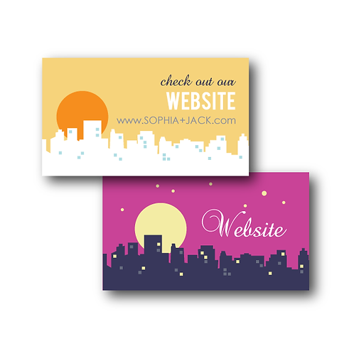 Night and Day Website Card