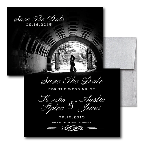 Drinkin' Champagne Save the Date + Envelope