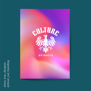 Culture Extracts Sign + Poster