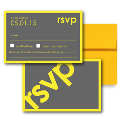 So Fresh and So Clean RSVP + Envelope