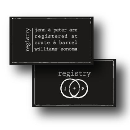 Eternity Stamp Registry Card