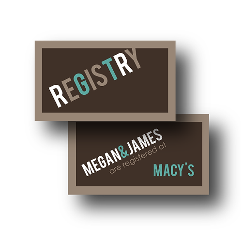 Up, Up, and Away Registry Card