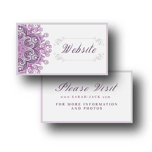Lovely Lace Website Card