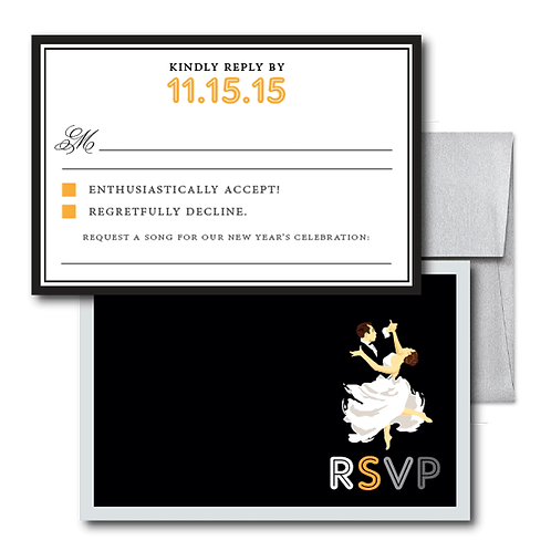 The Gatsby RSVP + Envelope