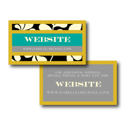 The Darcy Website Card