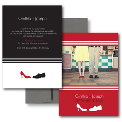 Two to Tango Photo Invitation + Envelope