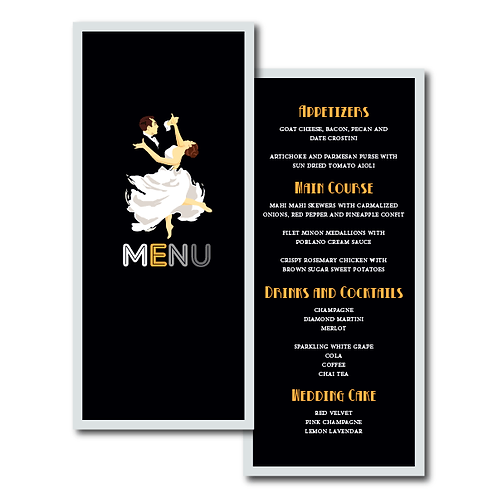 The Gatsby Menu