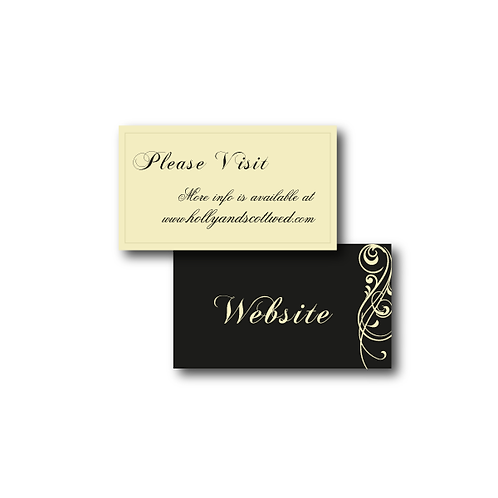 Love Orchestrated Website Card