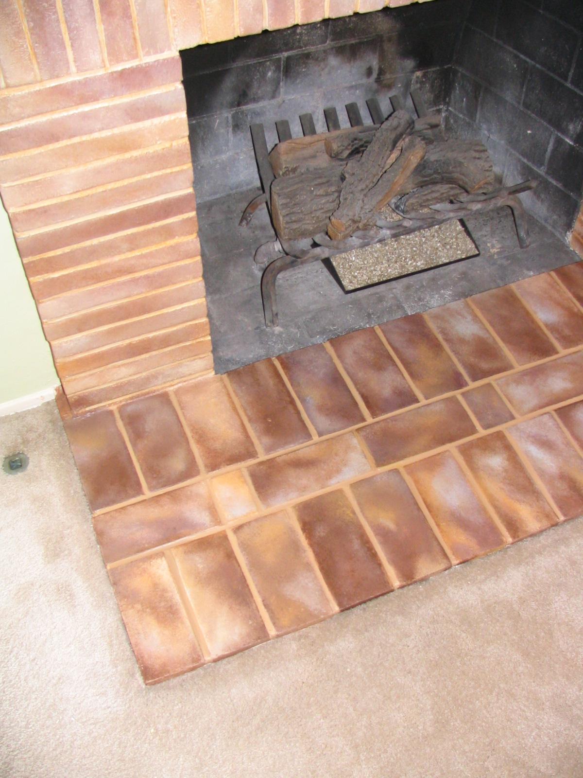 Faux Handpainted Tiles & Bricks