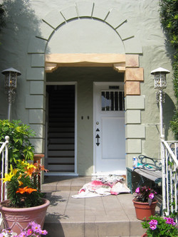 (Before) Archway entrance