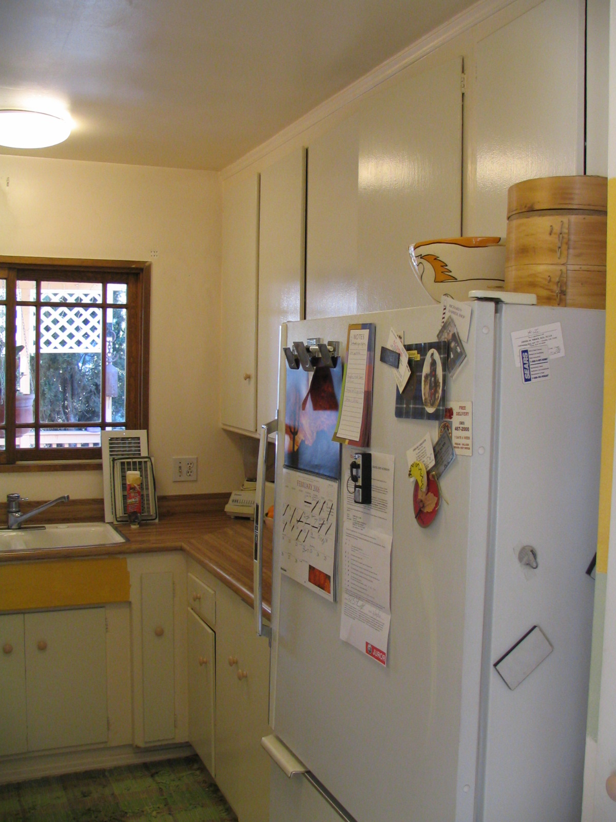 (BEFORE). Kitchen.