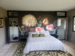 HAND-PAINTED MURAL FOR A BEDROOM CREATED BY PAUL MAXWELL GODFREY