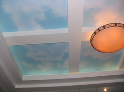CEILING. Airbrushed Sky.