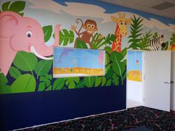 Wall Mural African scene CREATED BY PAUL MAXWELL GODFREY