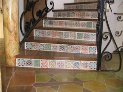 HANDSTENCIL: 180 Staircase Risers.