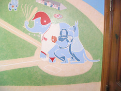 HANDPAINTED MURAL FOR KIDS ROOM CREATED BY PAUL MAXWELL GODFREY