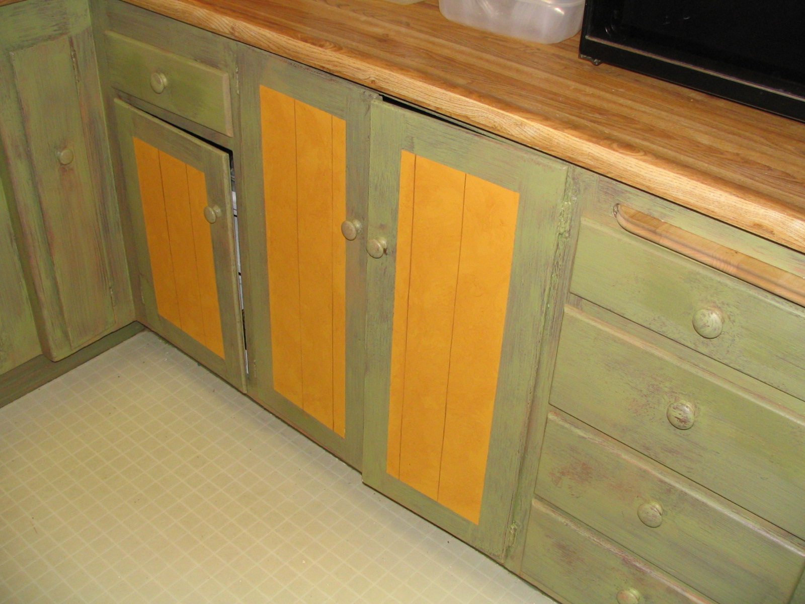 (AFTER) Cabinets.