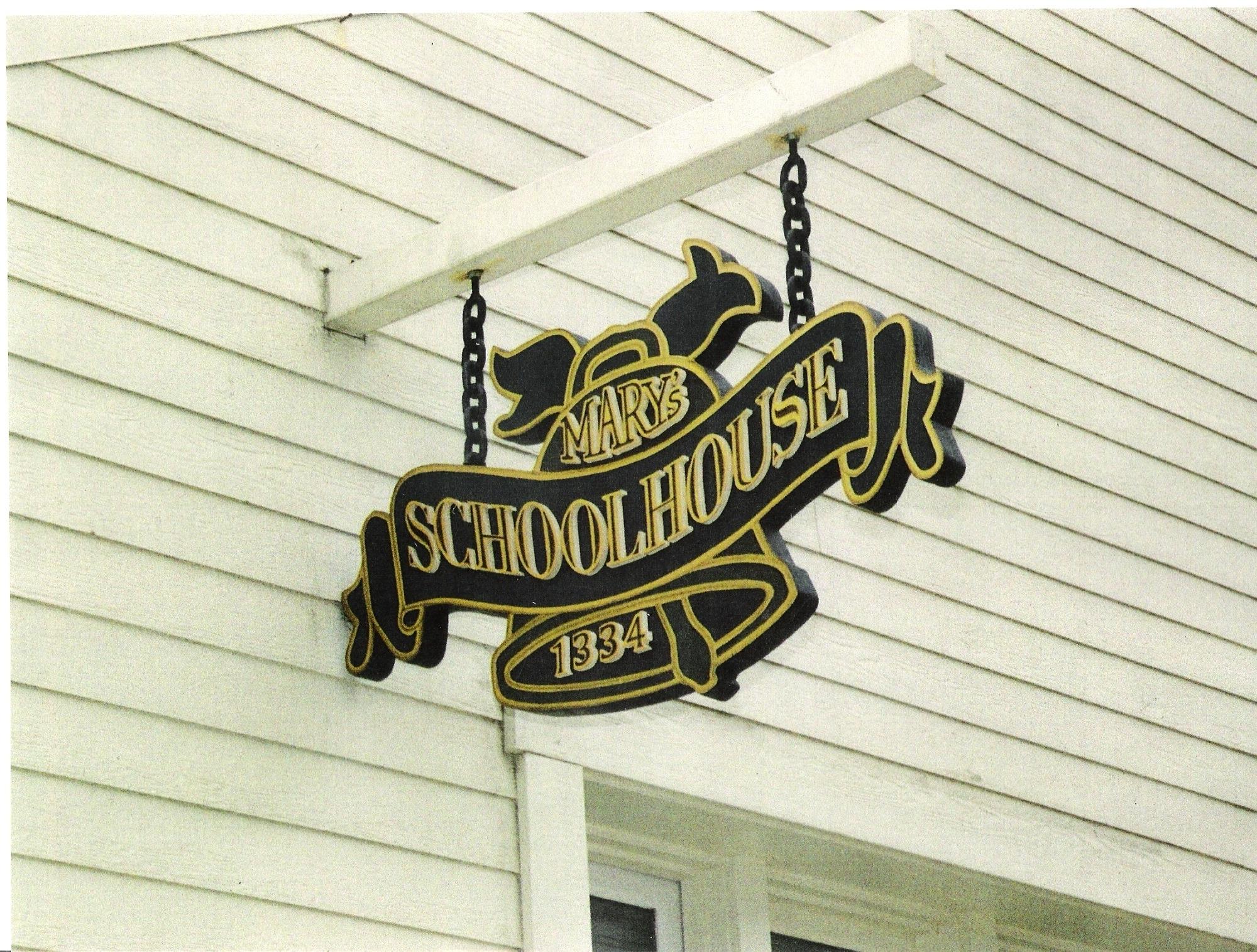 3D Wooden Exterior Sign. 4' x 3'.