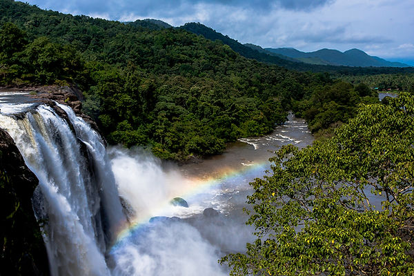 Athirapally Waterfalls - Kerala