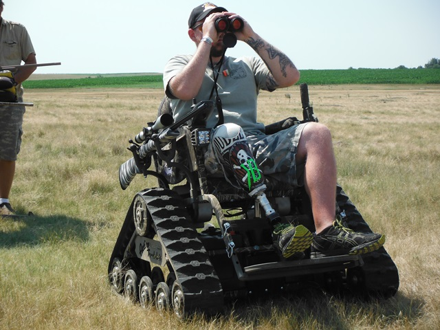 Action Track Chairs Helps Disabled Hunters Back Outside In Olmstead County Marshallradio